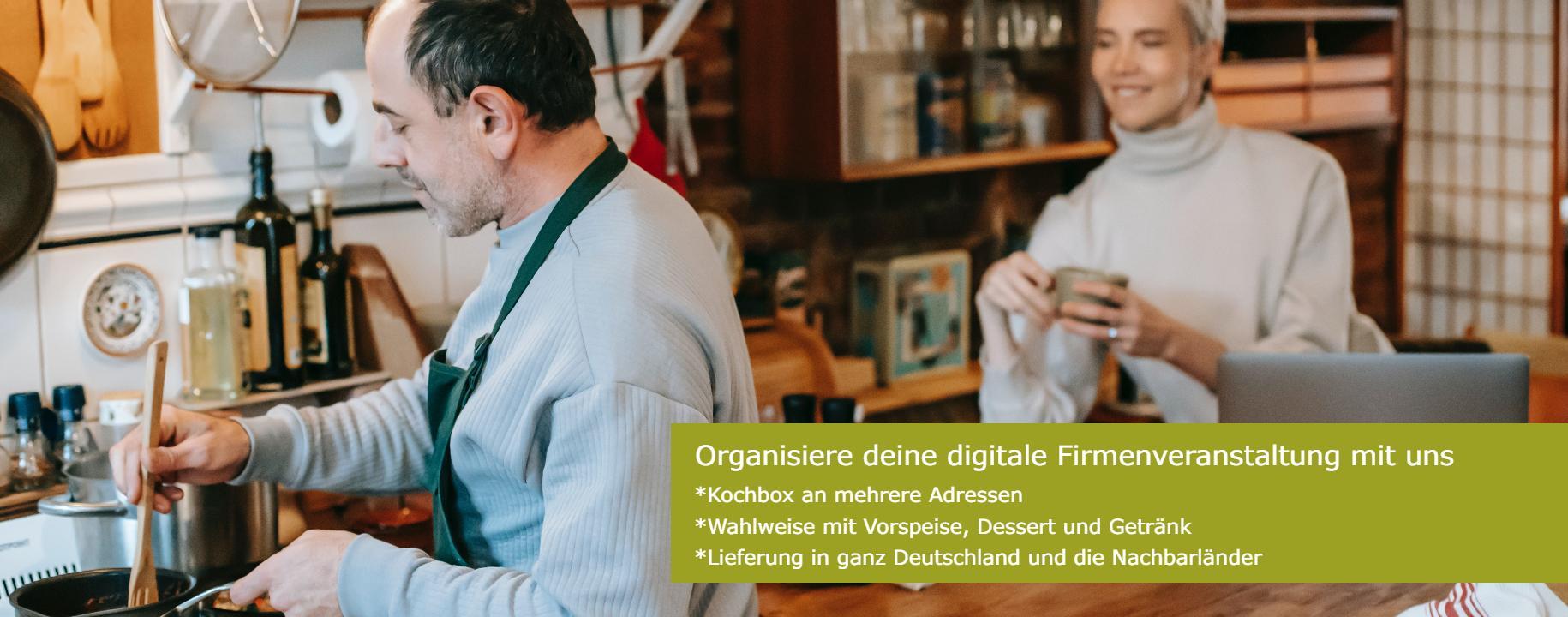 Virtuelles Firmenvent Kochbox
