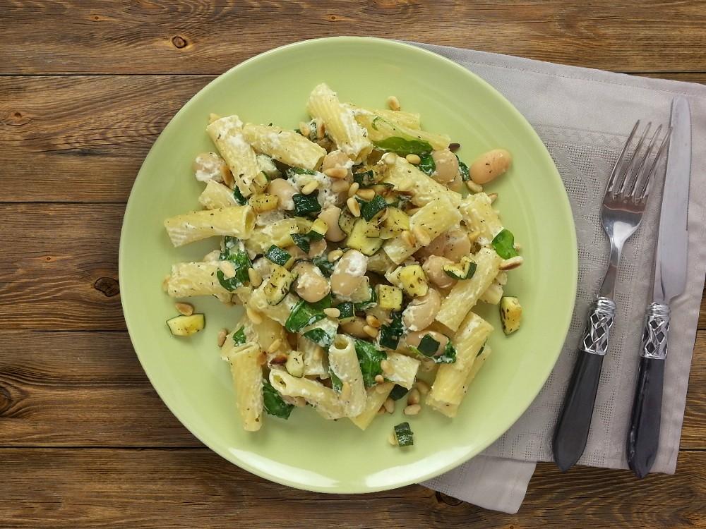 Tortiglioni mit Mascarpone-Sauce