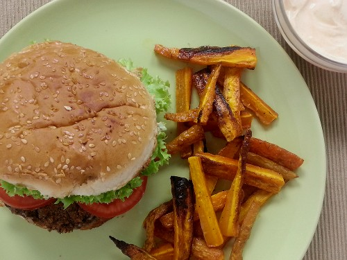 Black Bean Burger Vegan