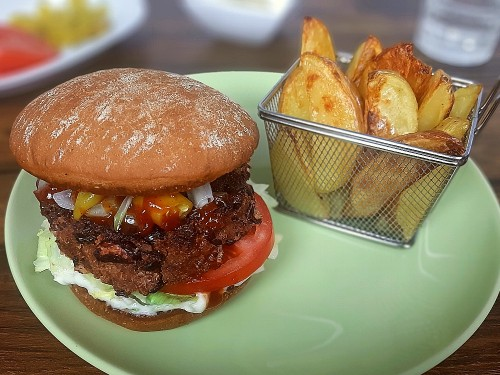 Veggie BBQ Burger